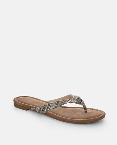 Sivé papuče loap