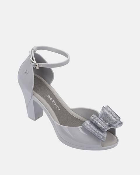 Sivé topánky Zaxy