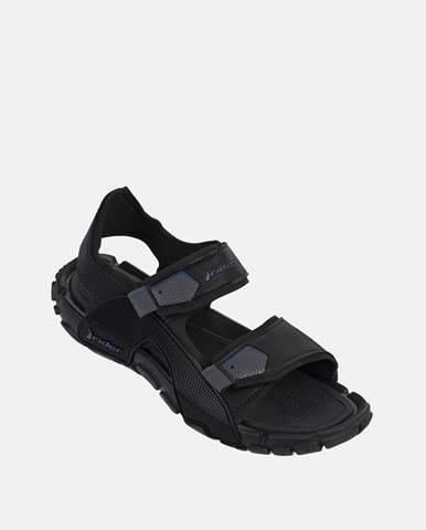 Čierne sandále Rider