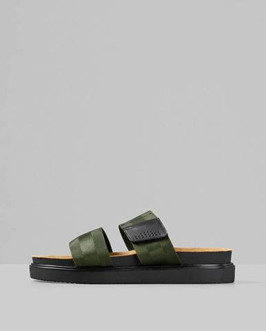 Tmavozelené sandále Vagabond