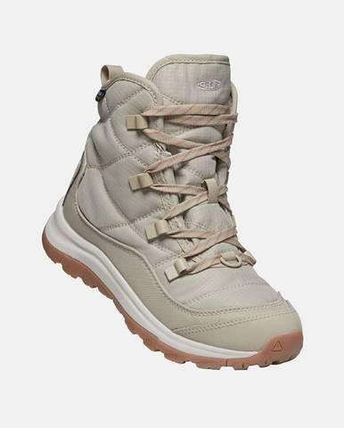Krémová zimná obuv Keen