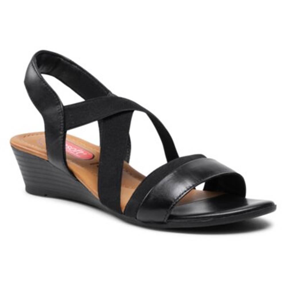 GO SOFT Sandále  OCE-TTT-01 Prírodná koža(useň) - Lícova