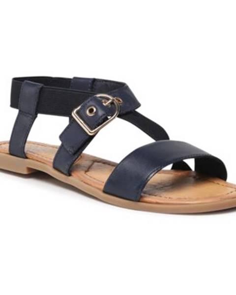 Tmavomodré sandále Lasocki