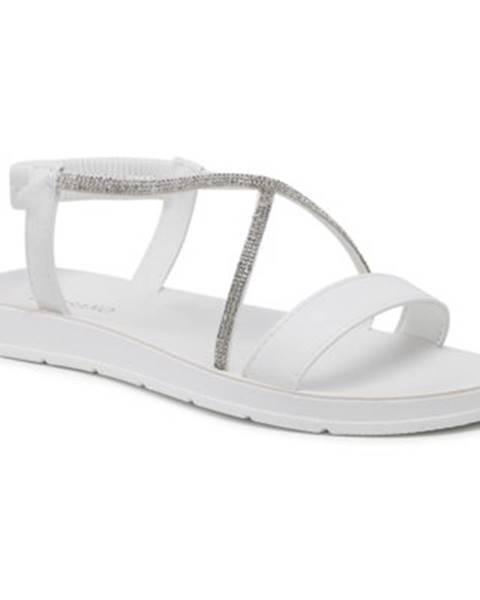 Biele sandále Bassano