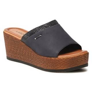 Sandále  WI23-0670-09 Prírodná koža(useň) - Zamš