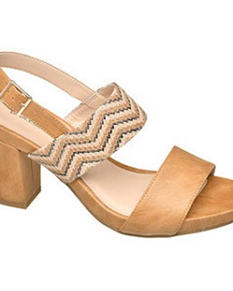 Béžové sandále Catwalk