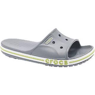 Sivé šľapky Crocs