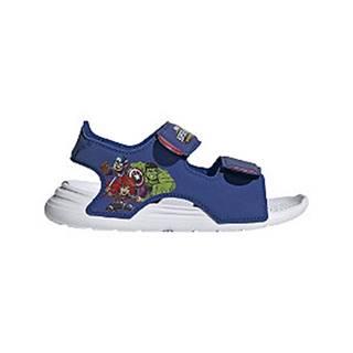 Tmavomodré plážové sandále Adidas Swim C