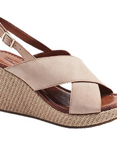 Béžové sandále 5th Avenue