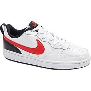 Biele tenisky na suchý zips Nike Court Borough Low
