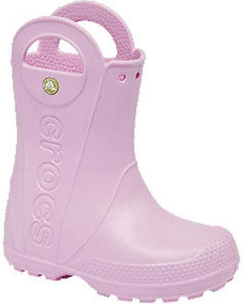Ružové gumáky Crocs