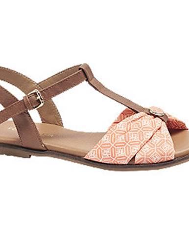 Lososové sandále Tom Tailor
