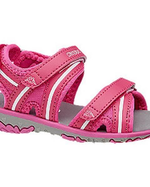 Ružové sandále Kappa