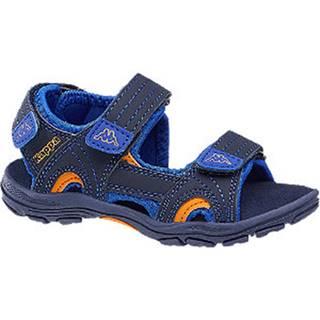 Modré sandále na suchý zips Kappa Early II K