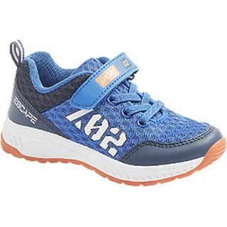 Modré tenisky na suchý zips Bobbi Shoes