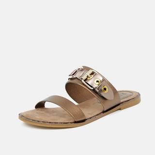 Papuče, žabky pre ženy Replay - bronzová