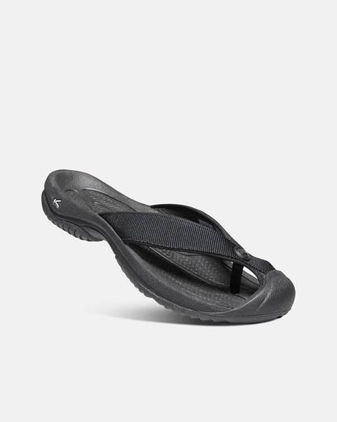 Čierne sandále Keen