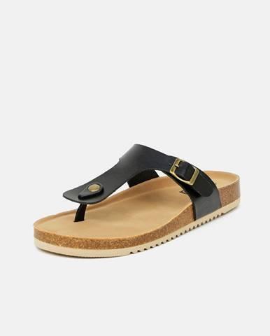 Čierne papuče Xti