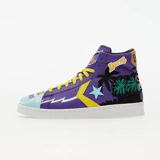 Converse x Chinatown Market x NBA Pro Leather Prism Violet/ Poolside
