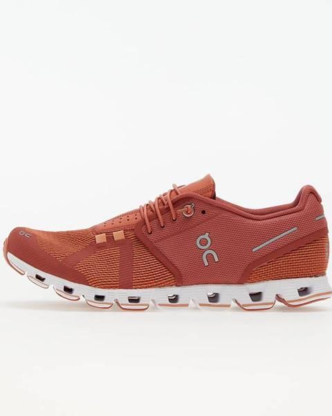 Červené tenisky On Running