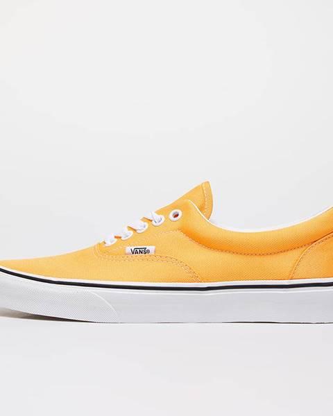 Oranžové tenisky Vans