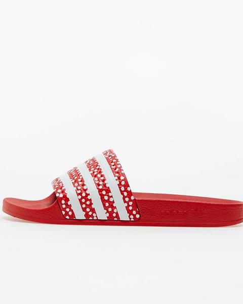 Červené tenisky adidas Originals