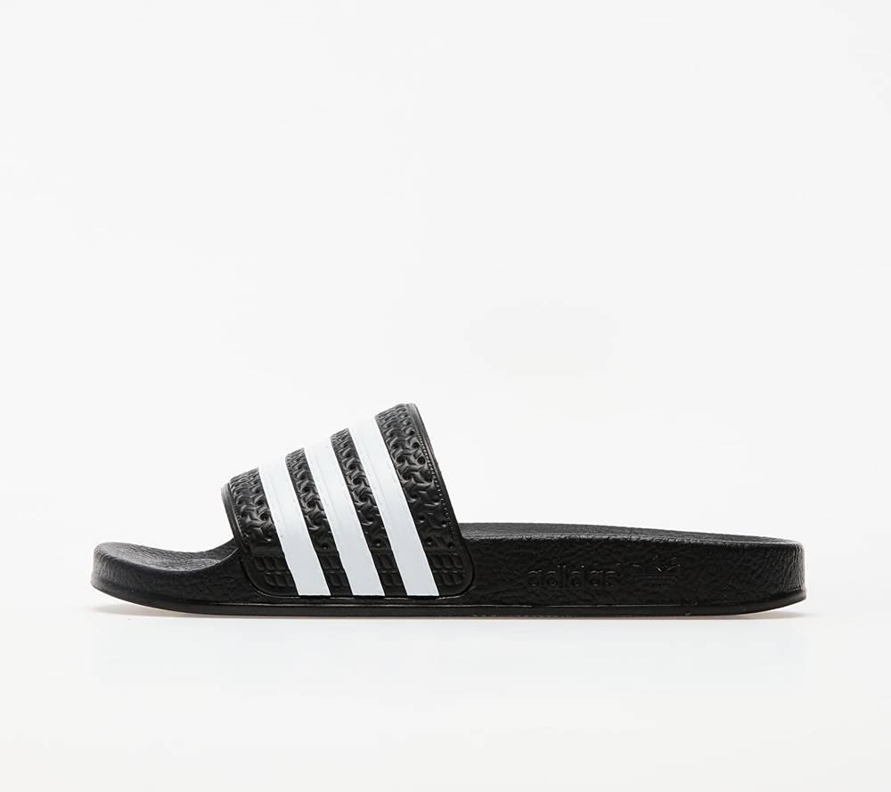 adidas Originals adidas Adilette Black/ White/ Black