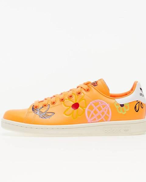 Oranžové tenisky adidas Originals