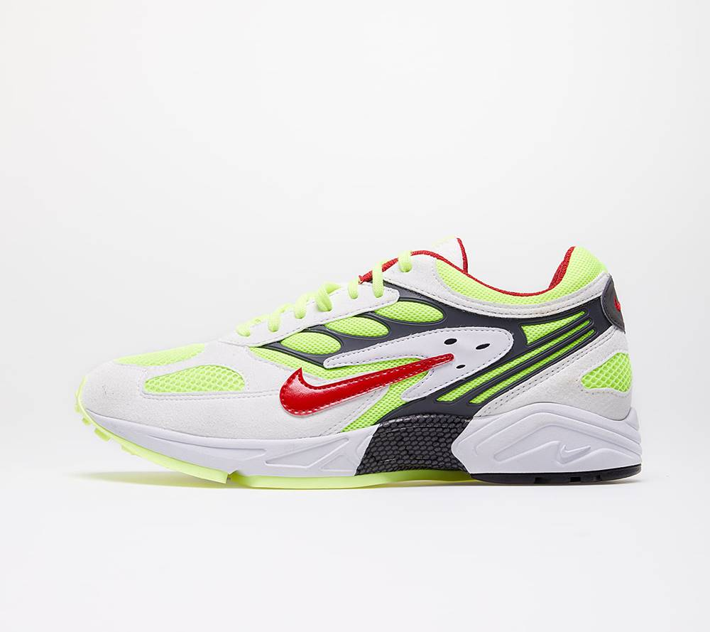 Nike Air Ghost Racer White/ Atom Red