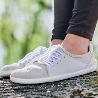 Barefoot tenisky Ace - Vegan - White 36