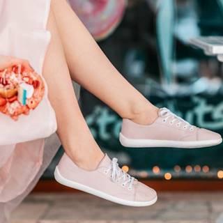 Barefoot tenisky Prime - Light Pink 36