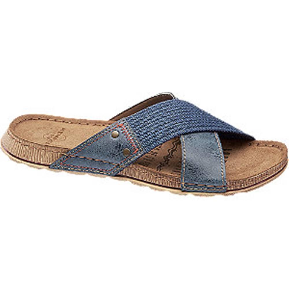 Memphis One Modré šľapky