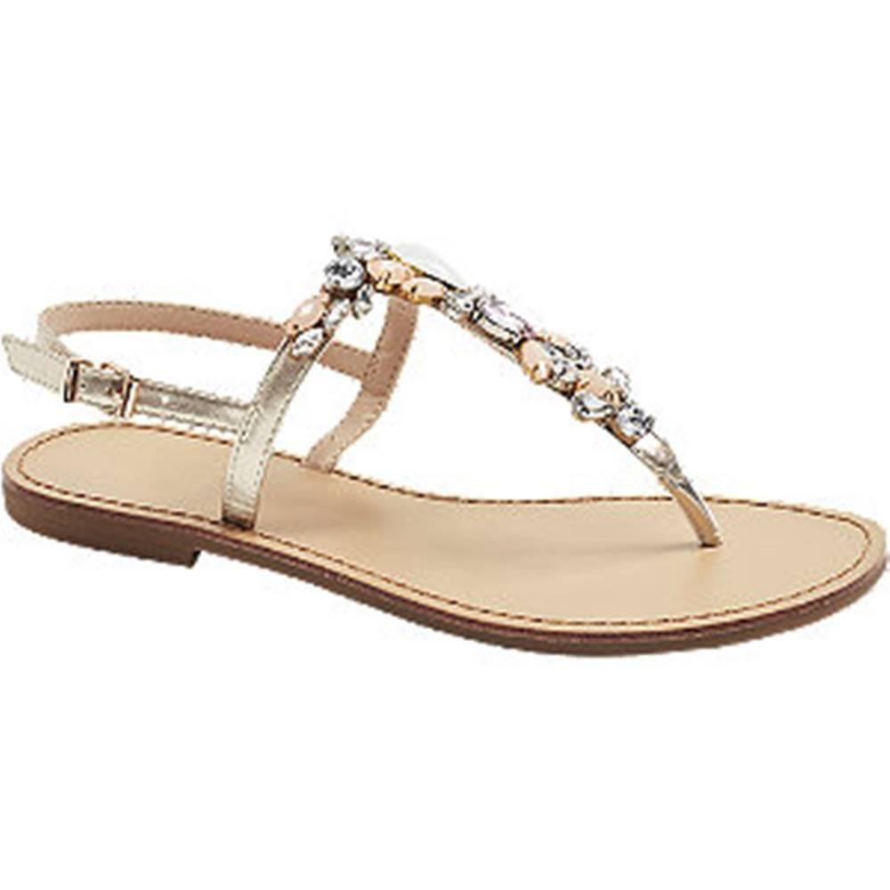 Graceland Zlaté sandále
