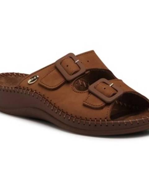 Hnedé topánky Scholl