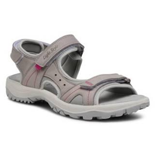 Sandále  709000 Prírodná koža(useň) - Nubuk