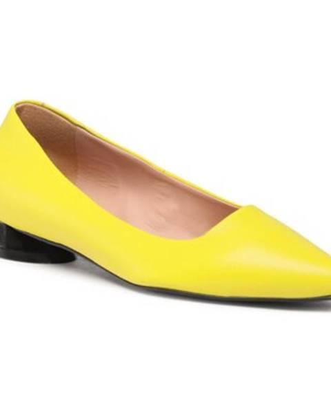 Žlté balerínky Gino Rossi