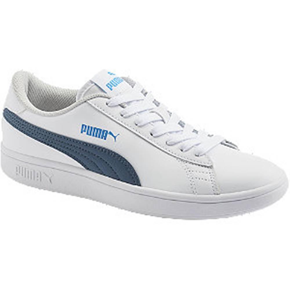 Puma Biele tenisky Puma Smash V2 L JR