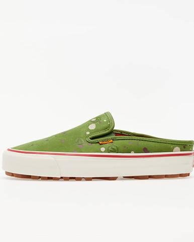 Zelené tenisky Vans Vault