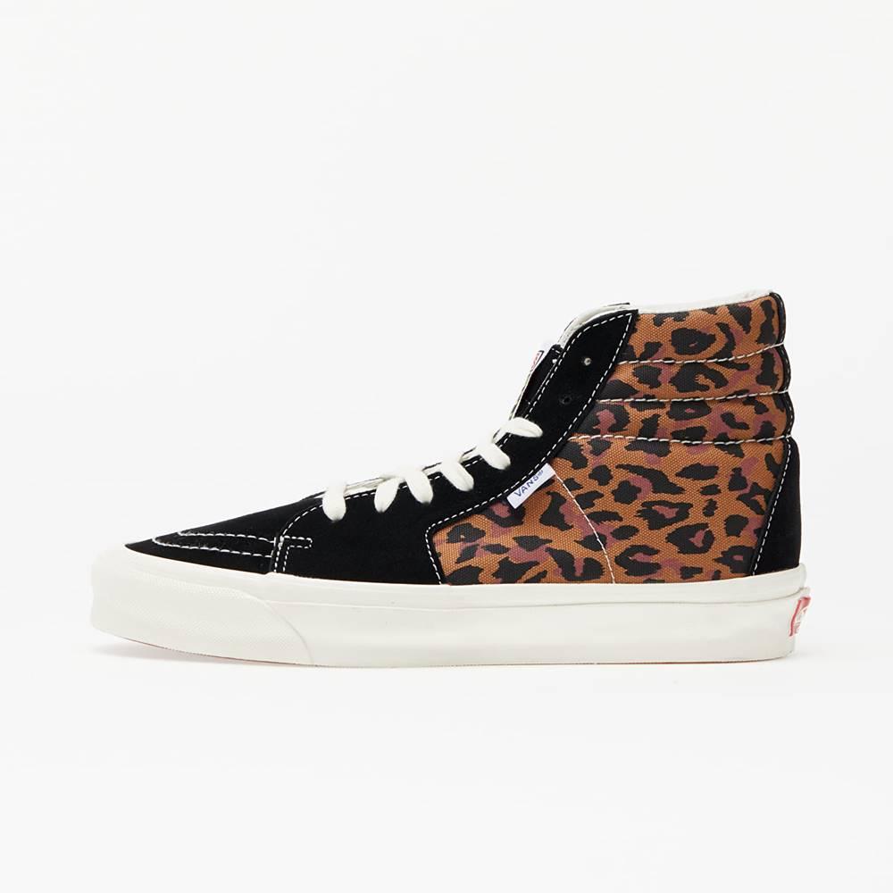 Vans Vault Vans OG Style 38 NS LX (Suede/ Canvas) Leopard/ Marshmallow