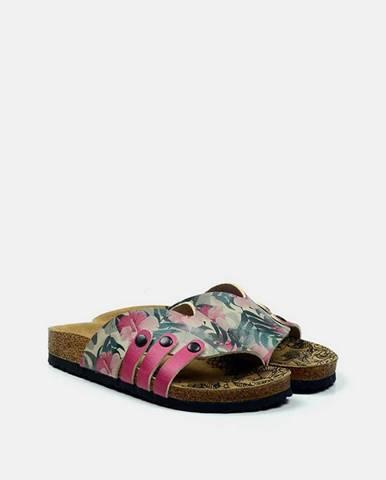 Fialové papuče calceo