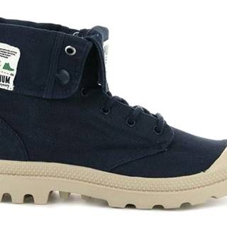 Topánky Palladium Boots Baggy Organic Indigo Blue