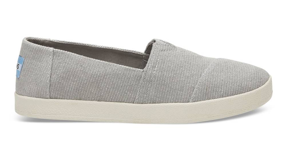 TOMS Tenisky Toms Drizzle Grey Heavy Canvas