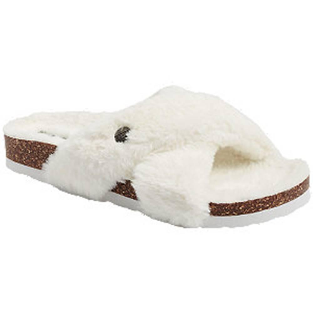 Esprit Biele papuče