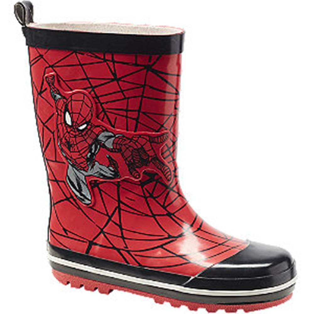 Spiderman Červené gumáky