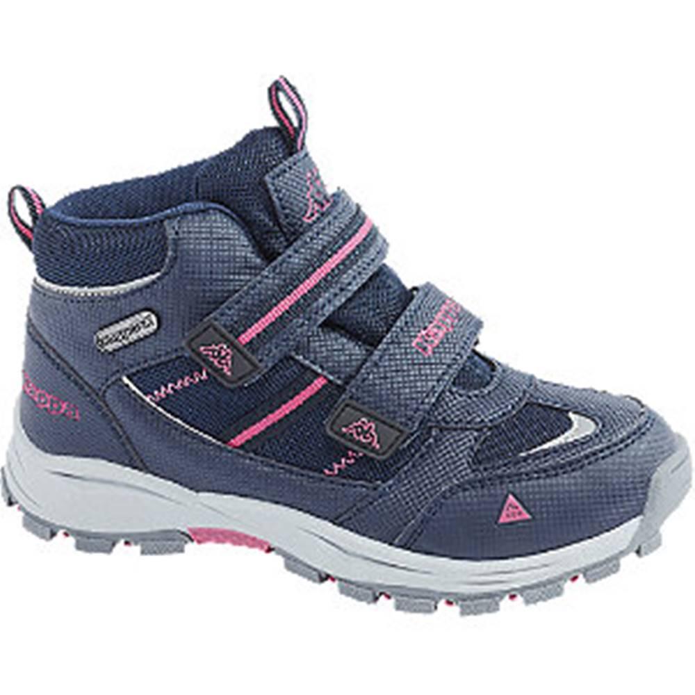 Kappa Tmavomodrá členková obuv na suchý zips s TEX membránou