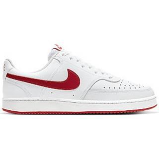 Biele tenisky Nike Court Vision Low