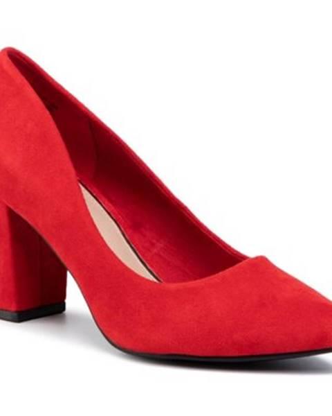 Červené lodičky Jenny Fairy