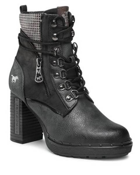 Čierne topánky Mustang