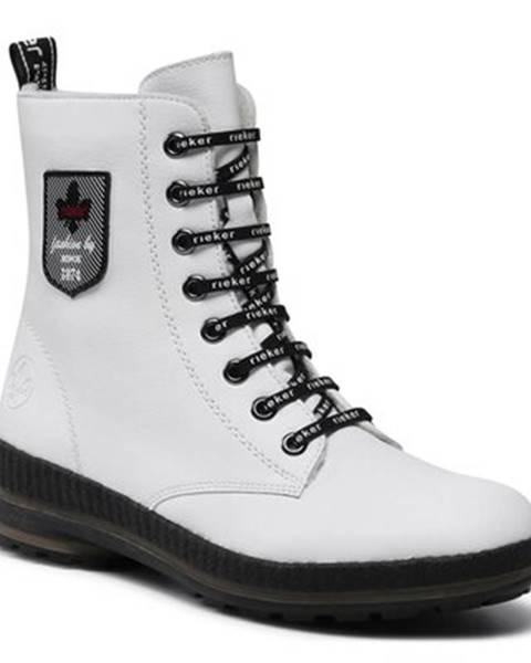 Biele topánky Rieker