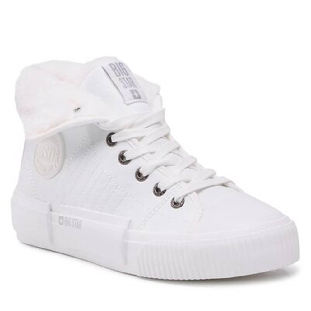 Big Star Šnurovacia obuv  II274156C Imitácia kože/-Imitácia kože